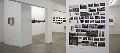 Ausstellungsansicht WALKs & VIEWs