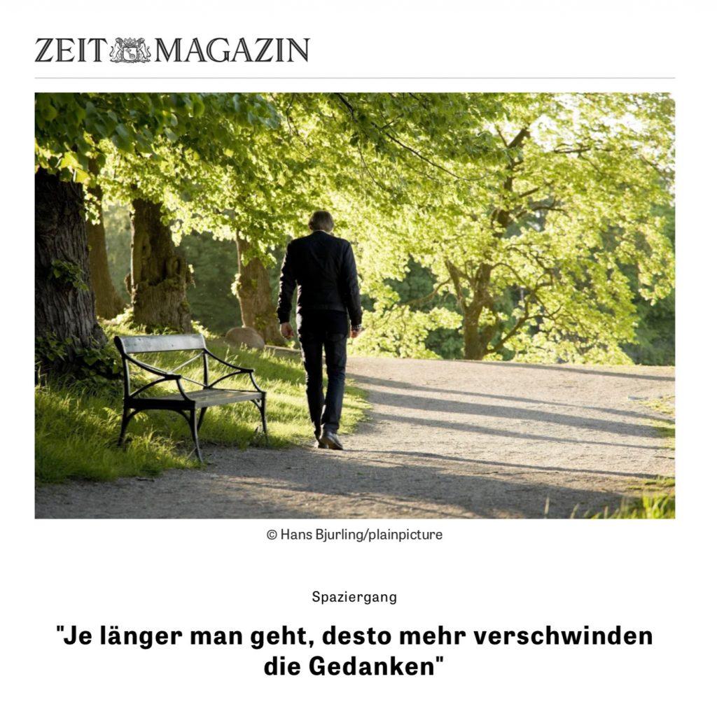 Titel Zeit-Magazin